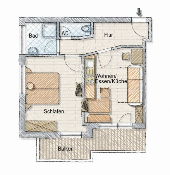 Appartement Sinabell